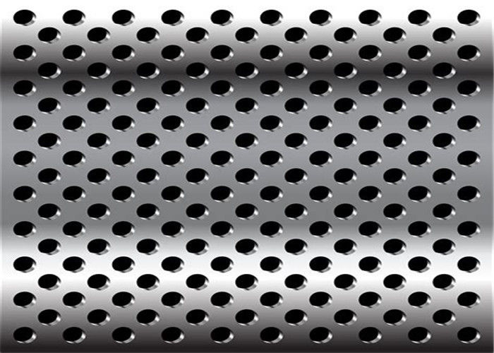 Diamond 3mm 2mm Perforated Anodized Aluminum Panels ISO9001-2008 Standard