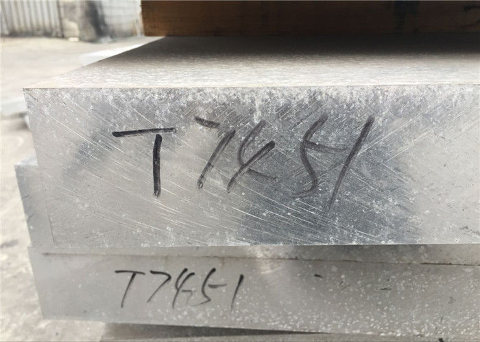 Thick 7055 Aluminum Alloy , High Strength T77511 Aircraft Aluminum Sheet Metal