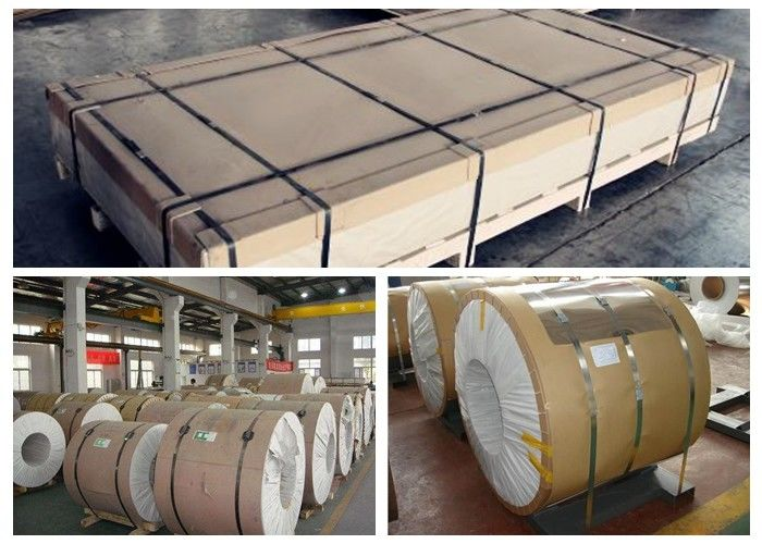 Auto Body Sheet Aluminum Sheet Metal Rolls Coil AMr3/1530 EN AW 5754 2560mm OD